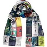 Literary Scarves UK,Book Covers Scarf, Literary Gifts for book lovers,
