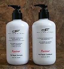 De Fabulous Shampoo, 250ml and Conditioner Reviver Set, 250ml