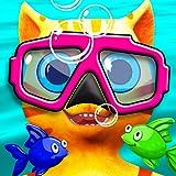 Cat Leo's Fish Hunt Water Race (Free)
