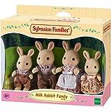 Sylvanian Families - 4108 - Famiglia Coniglio Latte