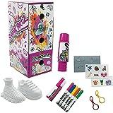 Splash Toys 32221 Splashtoys-SNEAK'ARTZ STARTER SET ASST Violette-Loisirs créatifs-Design et personnalise tes baskets-Assorti
