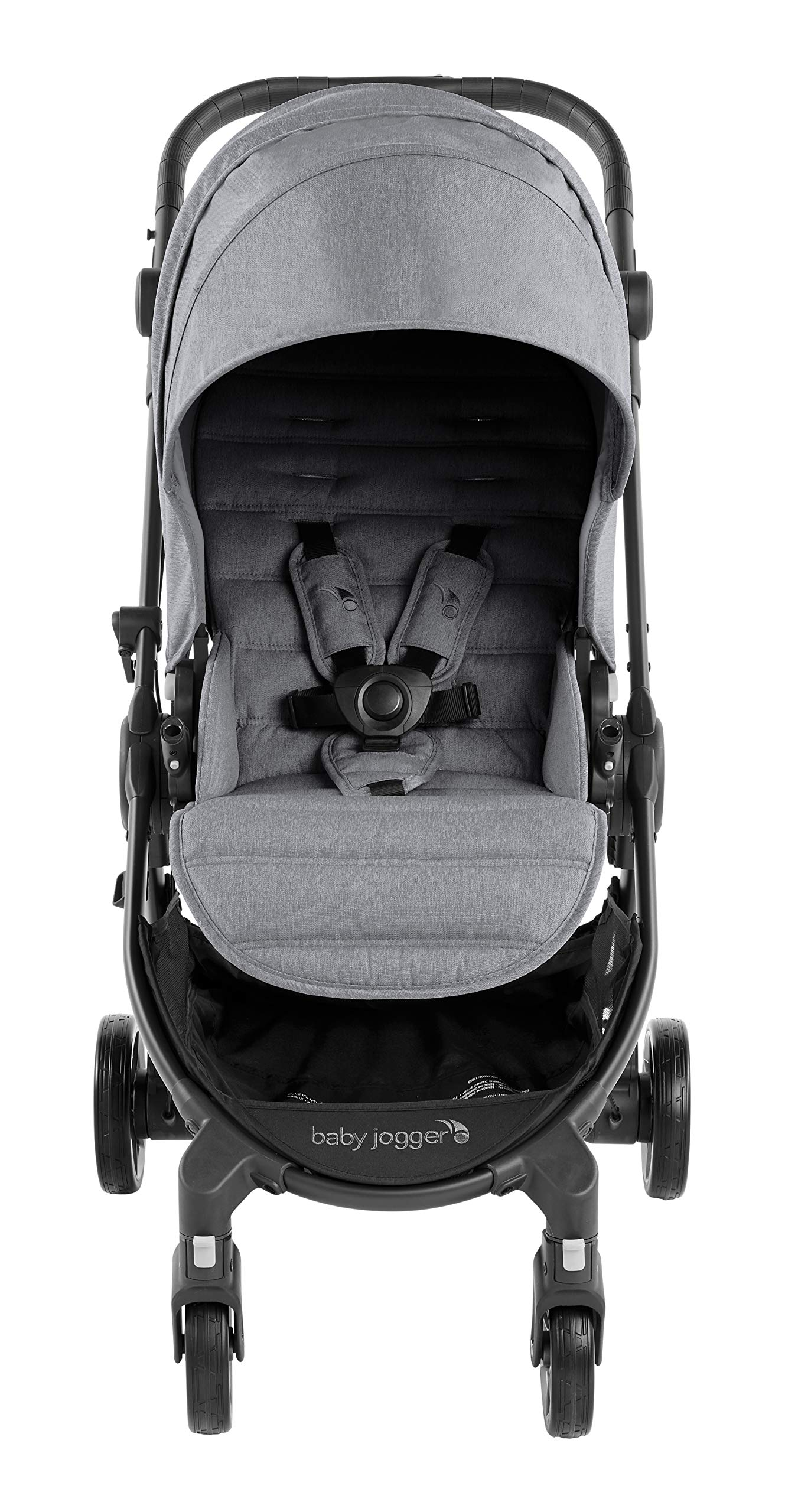 Baby Jogger City Tour LUX Compact Fold Reversible Stroller, Slate Baby Jogger The city tour lux and has a reversible from-birth seat unit for rear or forward travel Features an ultra-compact one hand fold and auto-lock when folded, allowing you to fold and go quickly. includes a carry bag and integrated carry strap a for easy transport With a flip flop friendly hand brake, lightweight and durable pu tyres and all wheel suspension to help keep mum and baby comfortable on many terrains 2