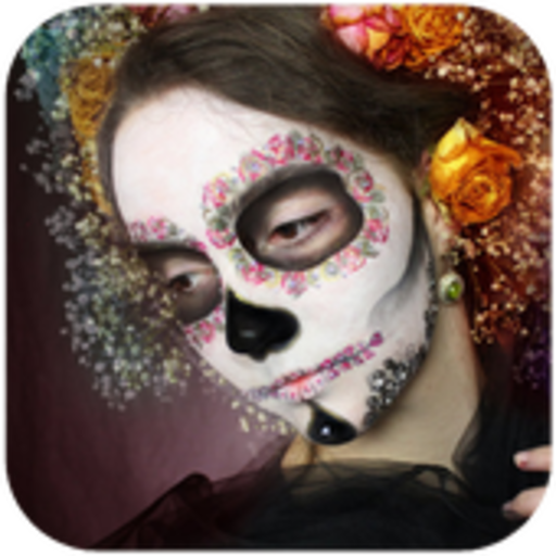 Day of the Dead Makeup (Tutorial Make-up Zombie Halloween Girl)
