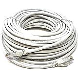 Mr. Tronic 20 Mètres Câble de Réseau Ethernet 20m   CAT5E, AWG24, CCA, UTP, RJ45   Gris