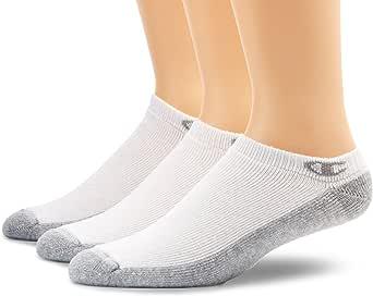 Champion Men's 3 Pack Extra Low Cut Socks - White - 12-14 US