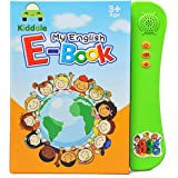 Kiddale Interactive Children Book -Musical English Educational Learning Electronic for Kids -Green