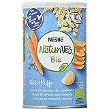 Nestlé Naturnes Bio Nutri Puffs Snack De Cereales Con Zanahoria, A Partir De 10 Meses - Pack de 5 envases x 35g