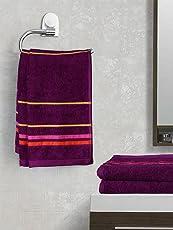 Trident Majestic Striped 4 Piece 440 GSM Cotton Hand Towel Set