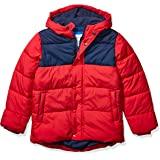 Amazon Essentials Heavy-Weight Hooded Puffer Coat Niños