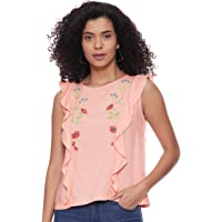 Amazon Brand - Eden & Ivy Women's Floral Regular Fit Blouse