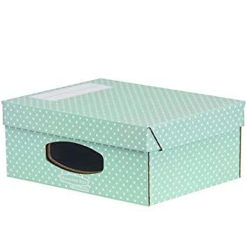 bankers box style windowed box a4 size greenwhite pack of 4