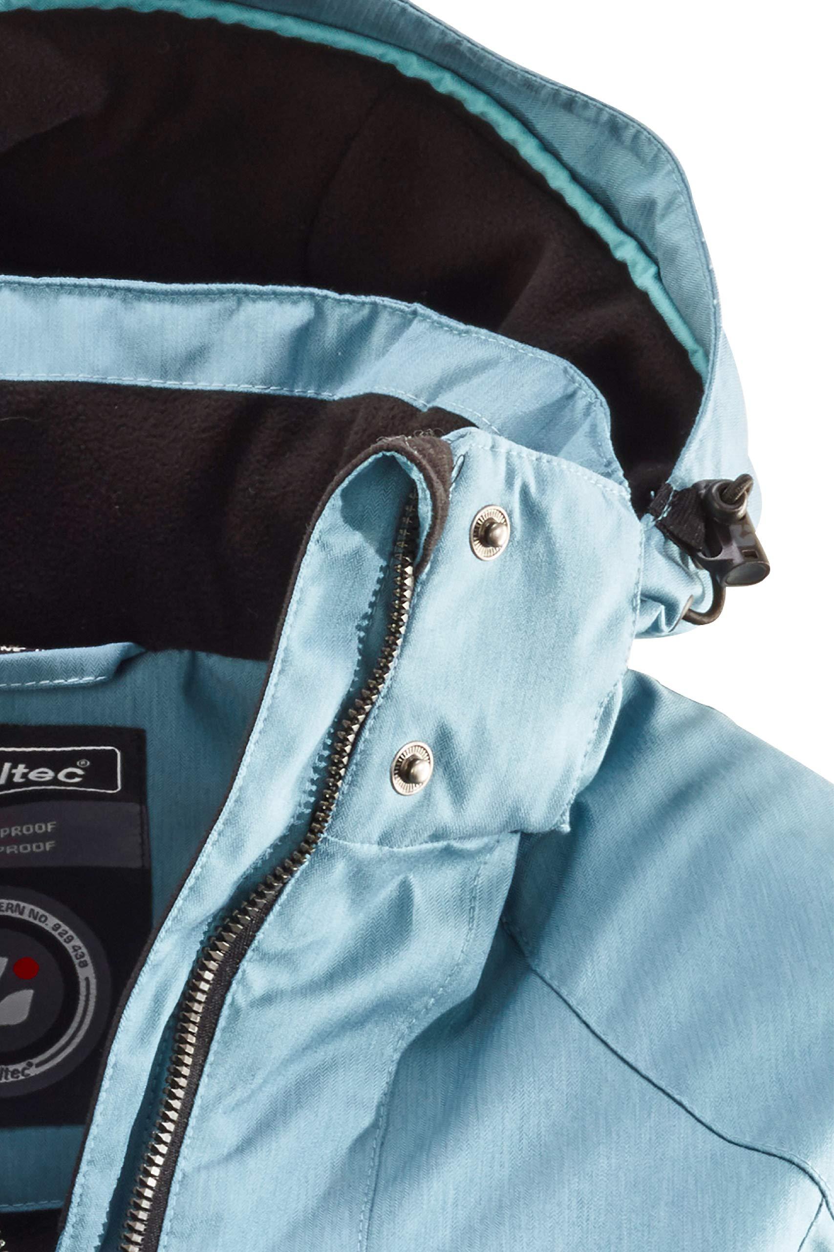 81joq dEWNL - killtec Women's Zala Functional Jacket with Zip-Off Hood