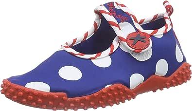 Playshoes Aquaschuhe Badeschuhe Erdbeeren mit UV-Schutz 174757 M/ädchen Aqua Schuhe