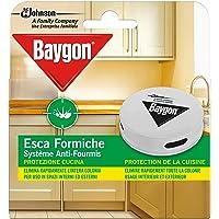 Baygon Esca Insetticida Formiche Pronta all'Uso, Protezione Cucina 30 g - Confezione da 1 Esca per Uso in Spazi Interni…