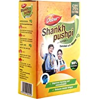Dabur Shankhpushpi Syrup 450 ml (with 225 ml Free)
