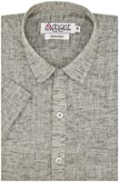 Arihant Men's Cotton Linen Formal Shirt