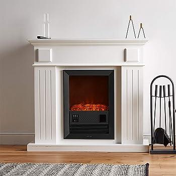 Endeavour Fires Castleton Electric Fireplace Suite Amazon