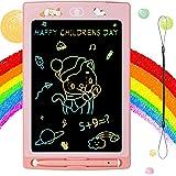 Spielzeug für 3 4 5 6 7 8 Jahre alte Mädchen, Mädchen Spielzeug Alter 2-8 LCD Schreibtablett Kinder 8,5 Zoll Lernen Zeichnen