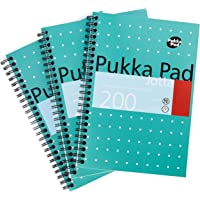 Pukka Pad 507850 Notebook Wirebound Jotta 80gsm Ruled 200 Pages A5 Ref JM021 [Pack of 3]