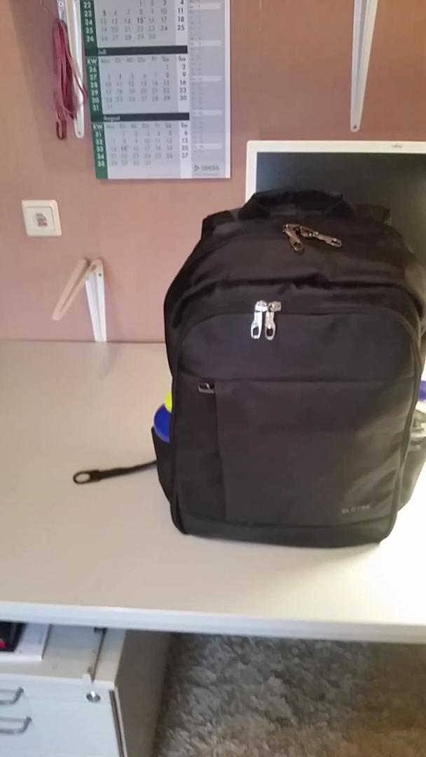 SLOTRA Laptop-Rucksack für 17
