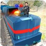 Simulateur de train à grande vitesse de police