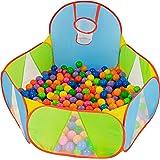 NUBUNI bollgrop för spädbarn: lekhage boll pool: lekhus: boll grop bollar: lekhage baby lekhus för barn: leka tält för barn p