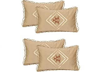 """Rj products Cotton 2 Piece Pillow Covers - 17"""" x 26"""""""