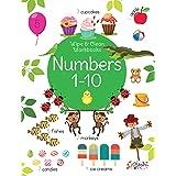 Numbers 1-10 - Wipe & Clean Workbook with free Pen