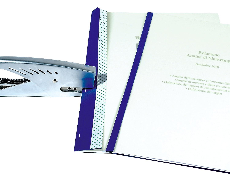 Super Mybind - Rilegare con la cucitrice - Fino 10 fogli formato A4 -25  AU72