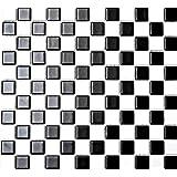 30-80x9 mm Mosaik-Netzwerk Mosaikfliese Kiesel geschnitten wei/ß-gelb Flu/ßkiesel Steinkiesel Flussstein Kieselmosaik Wohnzimmerwand K/üchenwand Boden Fliesenspiegel Spritzschutz K/üche Duschwand Mosaik Bogengr/ö Mosaikstein Format