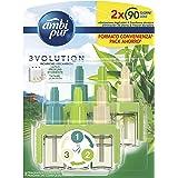 Ambi Pur 3Volution Tatami Japonés, Recambio de Ambientador Eléctrico 42 ml, 3 Fragancias para Eliminar Olores
