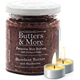 Butters & More Vegan Hazelnut Butter with Real Blueberries (200G) No Artificial Flavours Or Colour. with a Surprise…