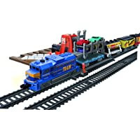 Power Train Turbos Auto Loader City Train Set, Multi Color (24 Pieces)