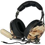 ARCTIC P533 Military – Cuffie Da Gioco Oltre l'Orecchio | Gaming Headset Over-Ear | Microfono a Braccio Con Controllo Volume