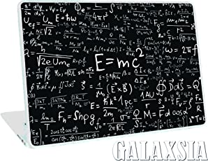 Galaxsia Einstein's Special-Relativity Equation Laptop Notebook Vinyl Skin Sticker Protector Cover Case(Multicolour)