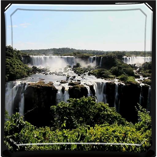 Waterfall Forest HD - Wallpaper & Theme