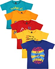 Maniac Boy's Cotton T-Shirt