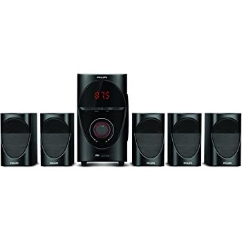 Philips SPA7000B 5.1 Channel Multimedia Speaker System