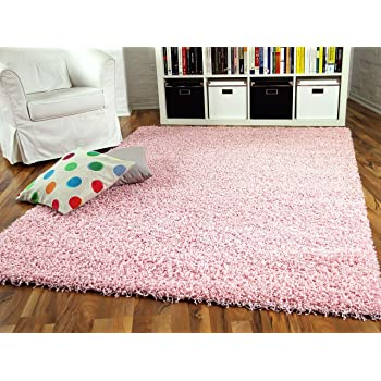 Aloha Hochflor Langflor Shaggy Teppich Rosa Sofort Lieferbar In 8