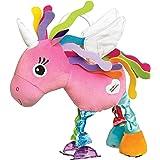 """Lamaze Baby Spielzeug""""Ella, das Einhorn"""" Clip & Go – Hochwertiges Kleinkindspielzeug – Greifling stärkt Eltern-Kind-Bindung – Ab 0 Monate"""