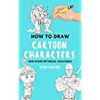 how to draw Cartoon characters: Cartoon characters drawing tutorials with this book will know how to draw anime,how to draw e
