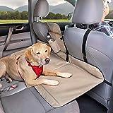 Kurgo Séparation et prolongement de banquette arrière de voiture pour chien, Adapté à la plupart des voitures et SUV, Pour ch