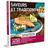 Smartbox - Coffret Cadeau Saveurs et Traditions - Idée Cadeau Gourmand - Un Repas pour 2 Personnes
