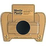 MastaPlasta - Parches AUTOADHESIVOS para reparación de Cuero y Otros Tejidos. Negro. Elije el tamaño y el diseño. Primeros Au
