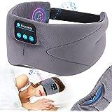 LC-dolida Sleep Headphones,Wireless Sleeping Headphones Sleep Mask Bluetooth Headband,Noise Cancelling Headphones Sleep Earbu