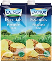 Lacnor Essentials Pineapple Juice - 1 Litre (Pack of 4)