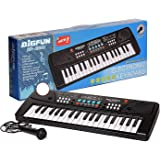 Toys Island 37 Key Piano Keyboard Toy for Kids with Mobile Charger Power Option and Recording- Latest Edition
