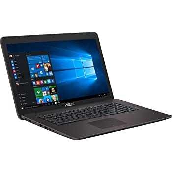 "Asus X756UX-T4187T Portatile, Display 17.3"" Full HD, Intel i5-7200UP, RAM 8 GB, HDD 1 TB, Scheda Grafica nVidia GTX 950M da 2 GB"