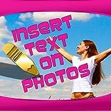 Text auf Fotos einfügen