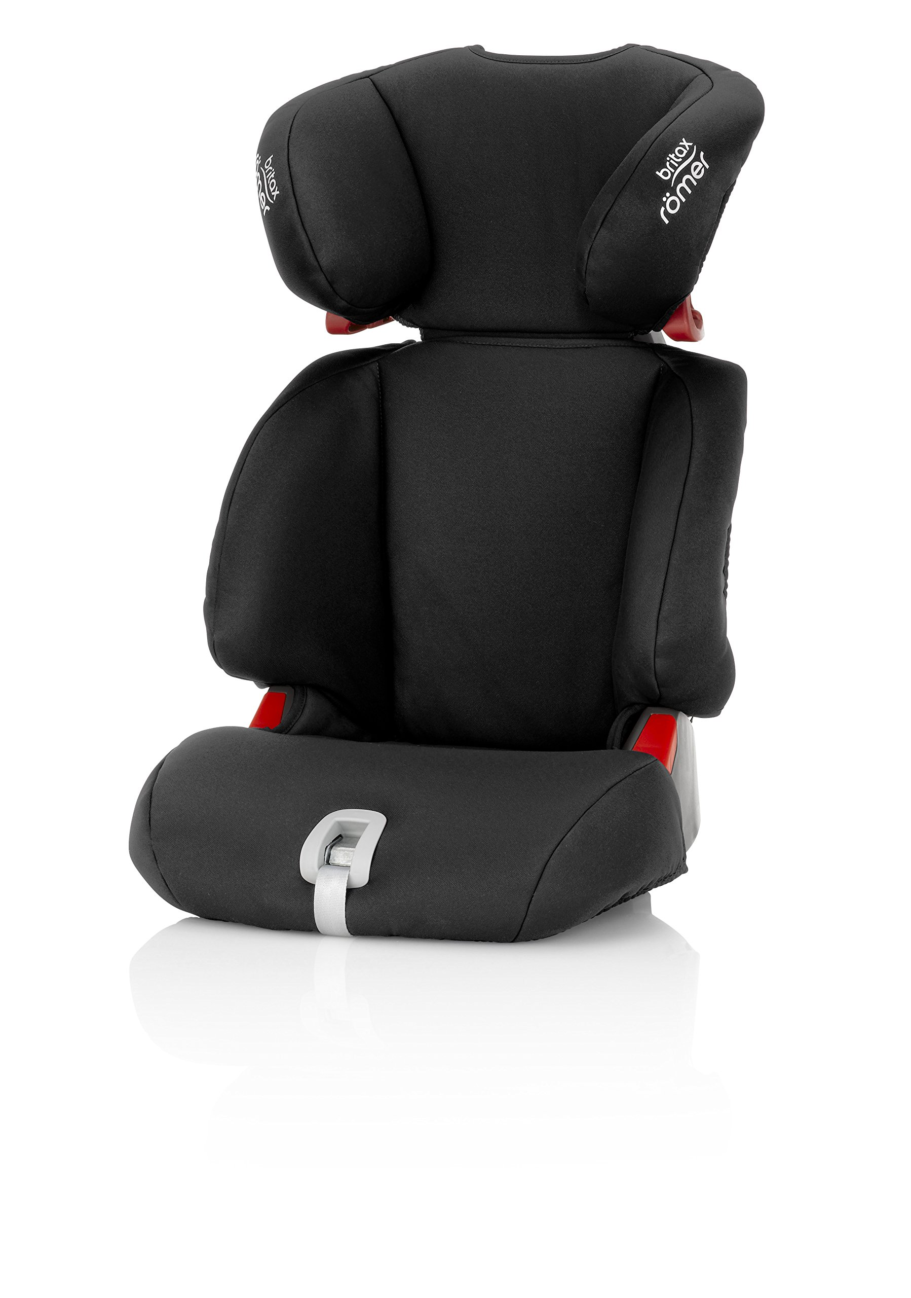 Britax Römer DISCOVERY SL Group 2-3 (15-36kg) Car Seat - Cosmos Black Britax The DISCOVERY SL is an award-winning highback booster seat with flexible installation options to suit any car - with optional attachment to the car's ISOFIX anchorage points. All in a lightweight shell for easy transfer between cars Highback booster protection - this highback booster will protect your child in 3 ways: the seat shell provides head to hip protection; the upper and lower belt guides provide correct positioning of the seat belt; and the padded headrest provides safety and comfort Adjustable backrest - the child seat's adjustable backrest allows you to match the angle of the vehicle seat, providing a better fit and a comfortable position for your child 1